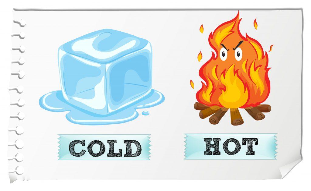 Glace ou chaleur ??!!